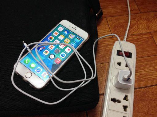 iPhone 6 pin ảo