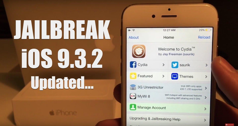 bẻ khóa hệ điều hành iOS 9.3.2