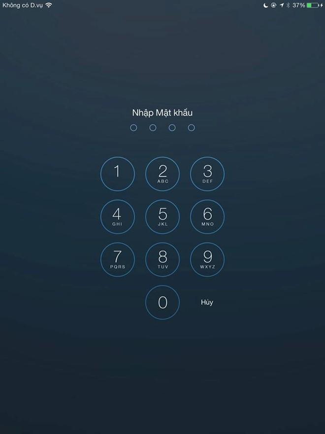 tìm  iPhone bị mất
