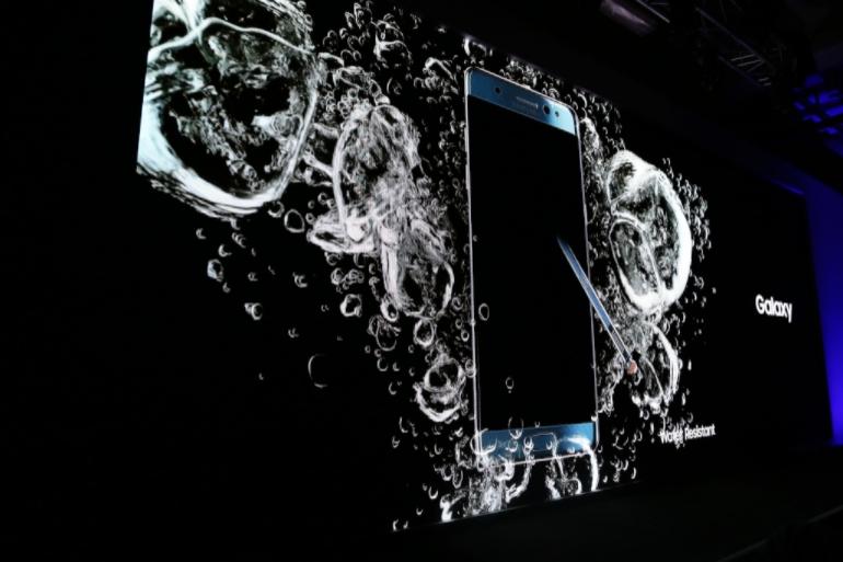 Galaxy Note 7 chống nước cực tốt