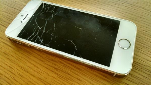 Màn hình iPhone 5s bị hư hỏng