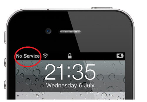 Nguyên nhân iPhone 5s sóng yếu