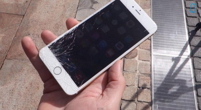 Mặt kính iPhone 6 dễ trầy xước