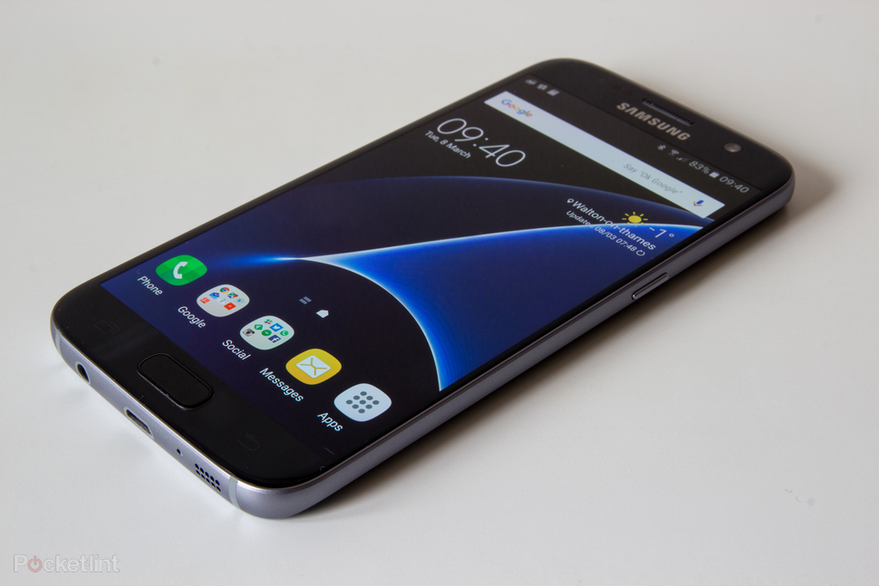 Galaxy S7 bị đơ máy khi chạy
