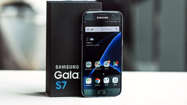 Galaxy S7 Đài Loan giống đến 99% hàng chính hãng