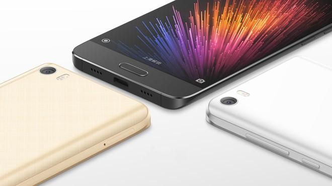 Xiaomi Mi 5 đẳng cấp của thiết kế