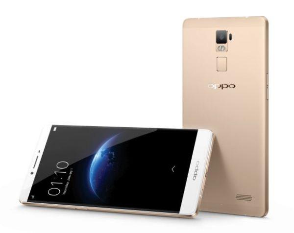 Oppo R7 Plus có thiết kế tinh tế và sang trọng