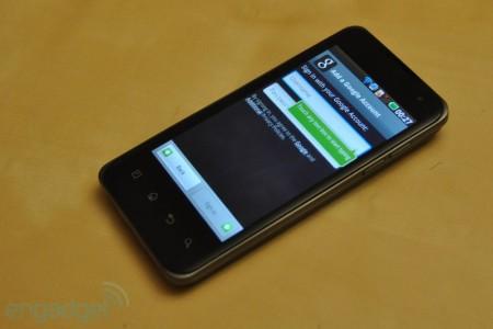 điện thoại LG Optimus 2X