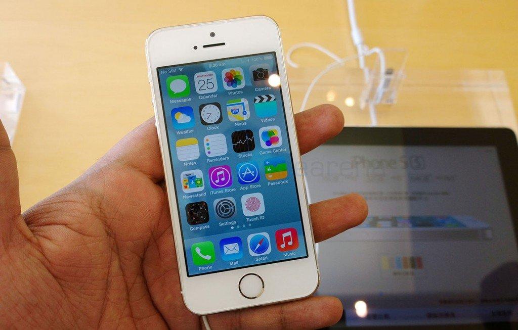 Giá điện thoại iphone 5s 2014 giá bao nhiêu