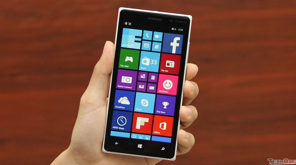 Hệ điều hành Windows Phone 8 trên Lumia 830