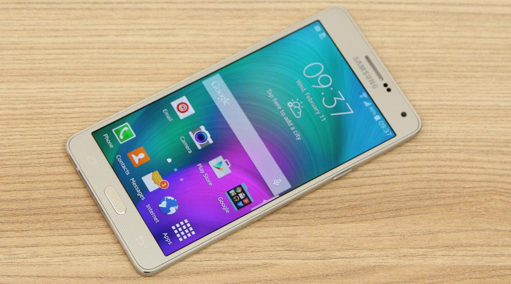 Samsung Galaxy A7 với thiết kế vỏ kim loại và độ dày 6.3 mm