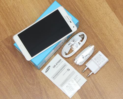 Bộ thiết bị đầy đủ đi kèm điện thoại Galaxy A7