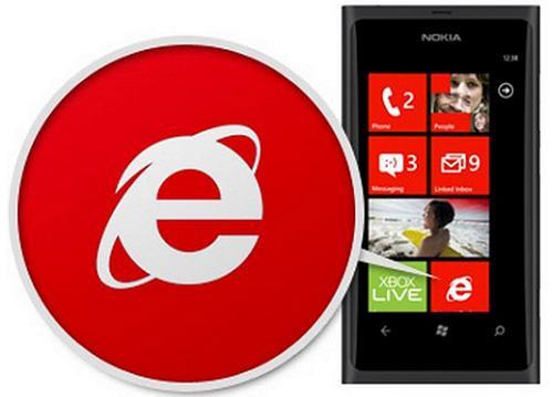 Đăng nhập facebook bằng trình duyệt IE trên lumia 730