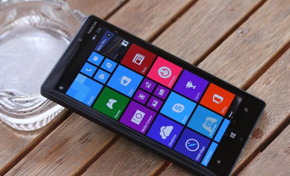 Giao diện màn hình chính của lumia 930