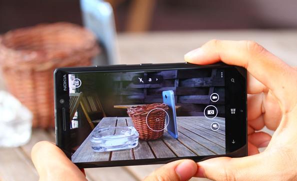 Hình ảnh từ camera của lumia 930 khi không sử dụng glance